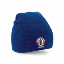 Taughmonagh Youth FC Beanie Hat - Royal 2018